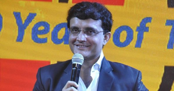 Watch: Even in gully cricket, Sourav Ganguly can't stop himself from smashing it around