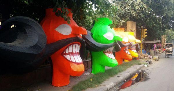 'Who likes seeing their hard work go up in flames?' Meet Delhi's Raavan-makers
