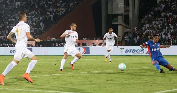 ISL 2016: Emiliano Alfaro nets two as NorthEast United see off FC Goa