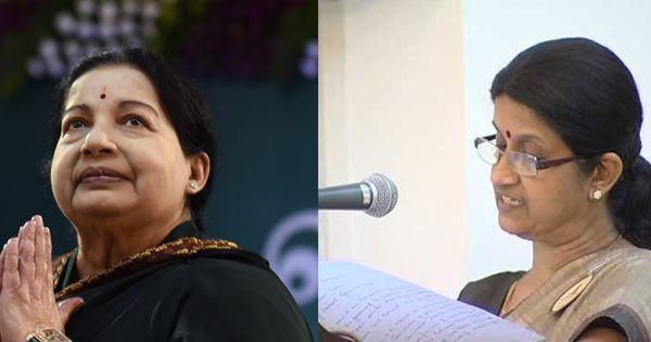 In Jayalalithaa's absence, is her advisor Sheela Balakrishnan running the government?