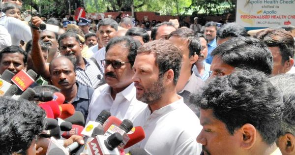 How the AIADMK stands to gain from Rahul Gandhi's courtesy call on Jayalalithaa