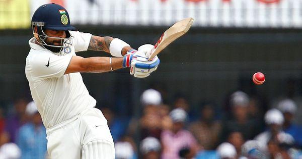 Virat Kohli's solidity takes India to 148/3 at tea
