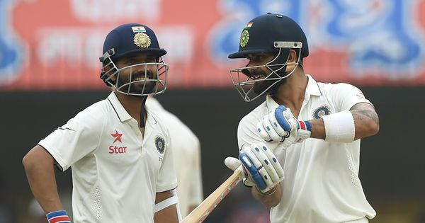 Fluency and struggle: Virat Kohli and Ajinkya Rahane's partnership had them both