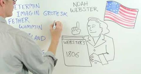 Watch: How 'flavour' and 'centre' became 'flavor' and 'center', thanks to a man named Noah Webster