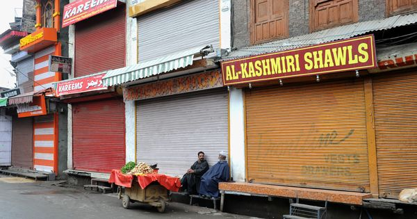 The three-month shutdown in Kashmir has crippled small traders and businesses