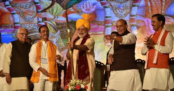 Chanting Jai Shri Ram, Modi sounds poll bugle in Uttar Pradesh