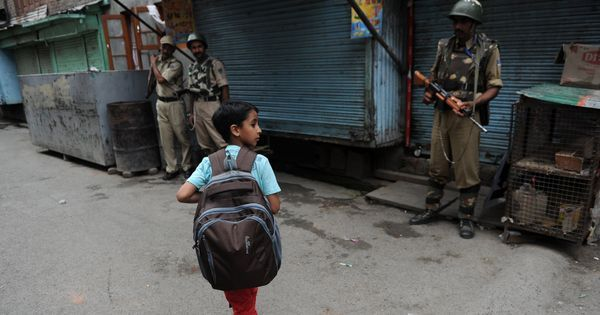 Recent arson attacks aside, schools in Kashmir have long been sites of surveillance and violence