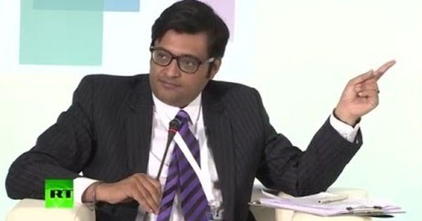 Arnab Goswami says he has been legally threatened not to use the phrase 'nation wants to know'