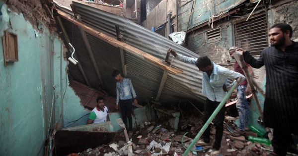Six killed after five-storey building collapses in Mumbai's Bandra East