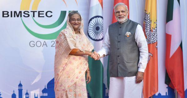 Narendra Modi ignores protocol to receive Bangladesh Prime Minister Sheikh Hasina at Delhi airport