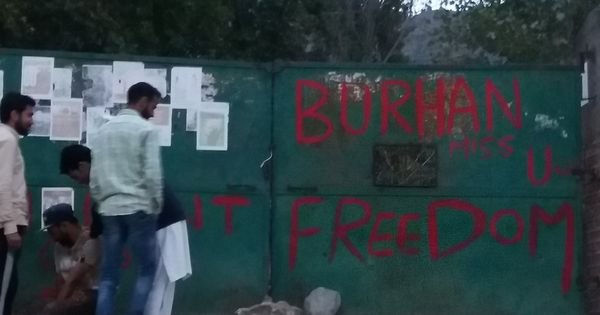 Kashmir: Two injured as protesters, security personnel clash over the killing of Hizbul militants