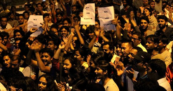 The mysterious disappearance of a JNU student after brawl with ABVP activists takes a communal turn