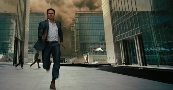See Tom Cruise running from one impossible mission to the next