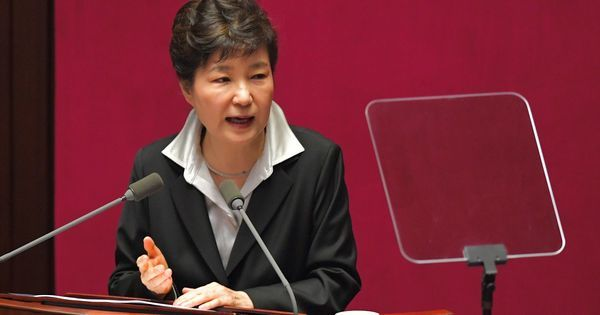 Ousted South Korean President Park Geun-hye formally charged with bribery, leaking state secrets