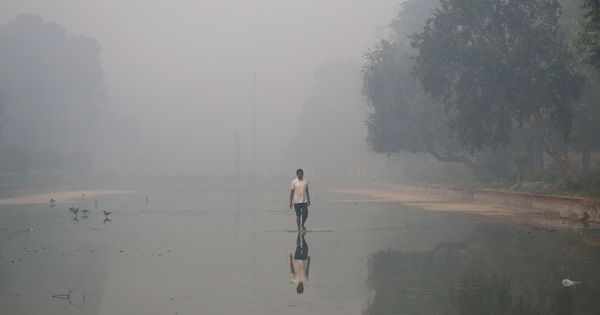 Dust storm in West Asia set off Delhi smog, says report by air quality monitoring agency