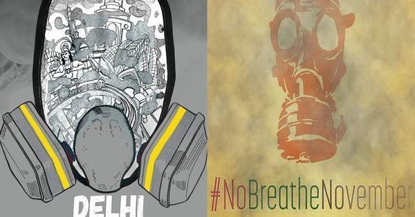 #NoBreatheNovember: Inspired by Delhi pollution, dystopian art storms social media