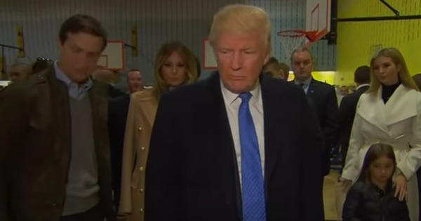 Watch: Moments from Donald Trump's life as America voted him in as the next President of America