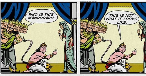 Epic Fail: A new webcomic tries to tell the Mahabharata and Ramayana with sass