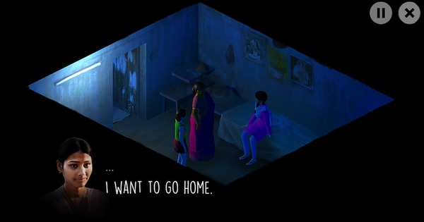 A gaming app asks you to step into the shoes of a girl trapped in a brothel