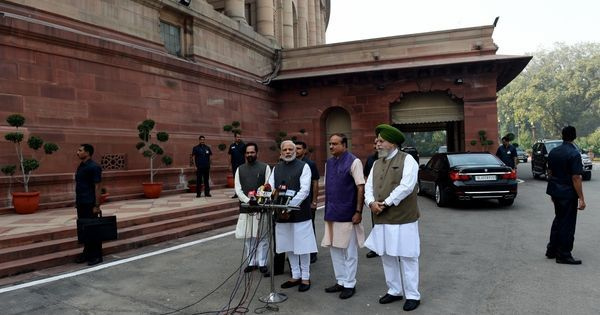 Is BJP so worried about Gujarat that it has to postpone (or cancel) Parliament's winter session?