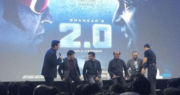 At '2.0' teaser launch, displays of ambition, Rajinikanth raves and plenty of superlatives