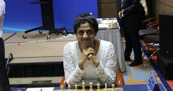 Chess: Harika Dronavalli earns hard-fought draw, moves into joint-8th spot in Women's Grand Prix
