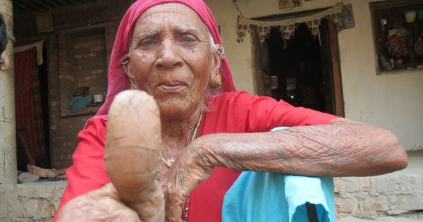 Gujarat matches the fingerprints of the poor before giving them food. Does the system work?