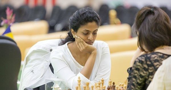 Harika Dronavalli shares spoils in fifth and sixth round of Abu Dhabi Chess meet