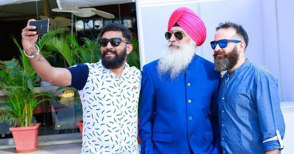 A bearded men's club is teaching Indians a thing or two about toxic masculinity