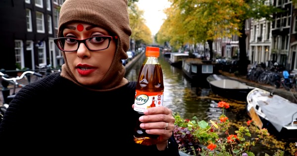 Video: Sawan Dutta pokes fun at Bengalis again, this time in Amsterdam (but how long can she go on?)