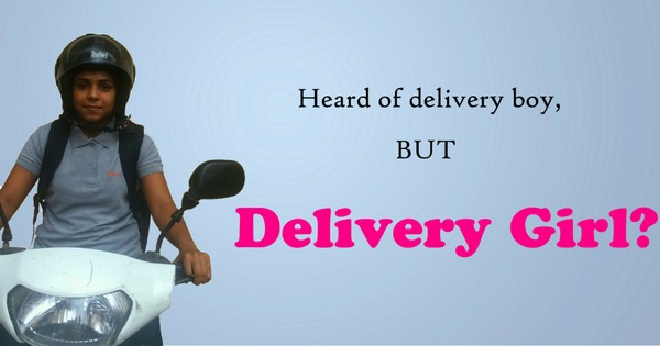 An Indian startup is trying to make scooter-riding delivery girls the new normal