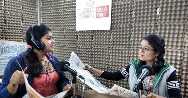 Gurgaon Ki Awaaz shows the powerful potential of community radio stations in India
