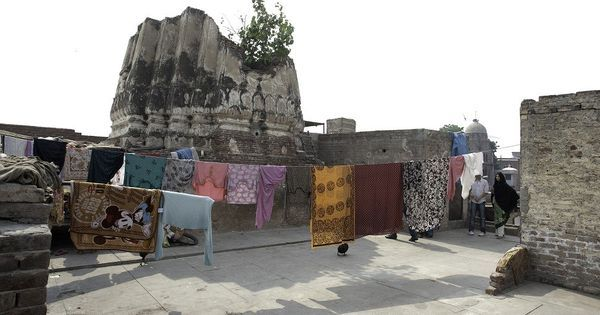 Searching for fragments of Hindu temples dedicated to goddesses in and around Lahore