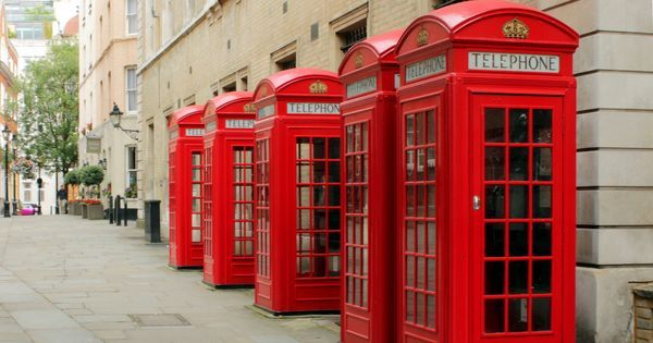 The traditional British red telephone booth is undergoing a 21st-century makeover