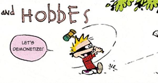 How Calvinball is like demonetisation: A satirist uses Calvin and Hobbes to explain India
