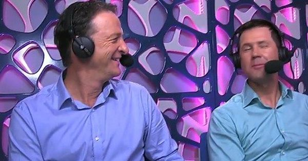 Watch: Ricky Ponting embarrasses Mark Waugh with a hilarious Barmy Army song during commentary