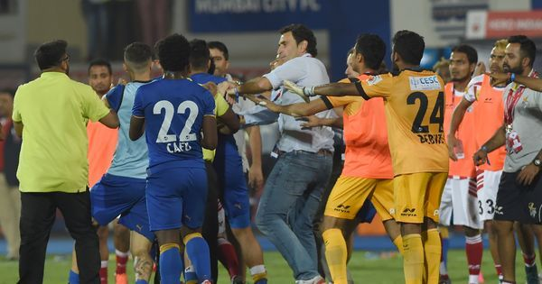 Mumbai City players handed suspension, fine for semi-final fracas against Atletico de Kolkata