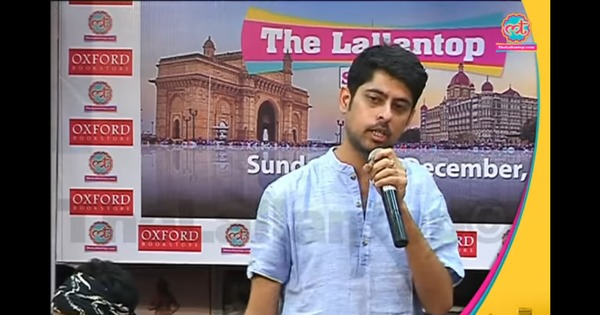 'After 40 days, laddoos was all they came up with': Watch comedian Varun Grover on demonetisation