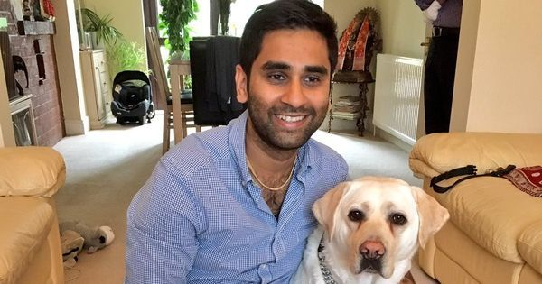 Watch: How visually challenged Amit Patel and his dog filmed daily abuse on London streets
