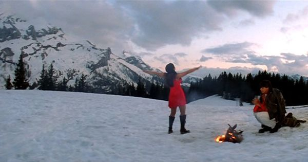 A snowy winter is the perfect excuse to get cuddly in Hindi film songs