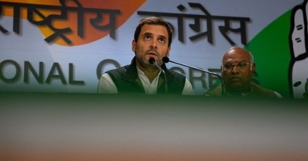 Congress Working Committee passes resolution to make Rahul Gandhi next party president