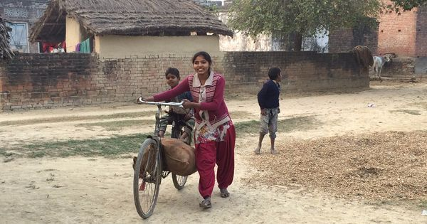 The daughter of a Dalit gets a Samajwadi laptop. Will that be enough to swing her family's vote?