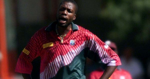 Watch: You simply don't mess with Curtly Ambrose. Australia's Dean Jones found out the hard way