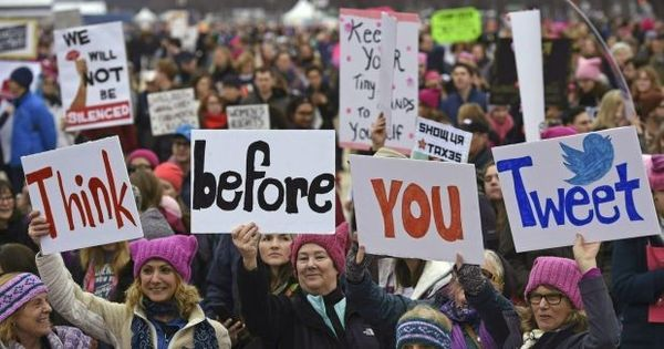 Videos: The march against Trump that united the world from United States to Antarctica
