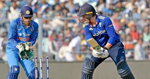 England put up 321/8 against India in 3rd ODI on a green top at Eden Gardens