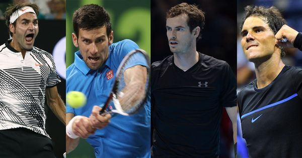 The Big Four return: Djokovic, Nadal, Federer and Murray to be reunited at US Open