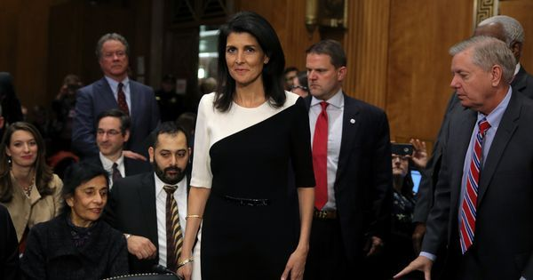 US Senate confirms Nikki Haley as ambassador to the United Nations