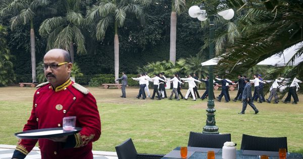 Photos: Why Delhi's historic Imperial Hotel has its own Republic Day march-past