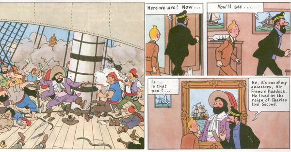 Captain Haddock in Calcutta (or, the story that Hergé did not write but history did)
