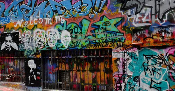 Homeless street artists have turned a lane in Melbourne into the city's most Instagrammed spot